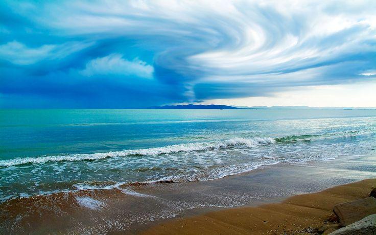 arka plan, güzel, duvar kağıdı, doğa, fotoğraf, gök, bulutlu, plaj ...