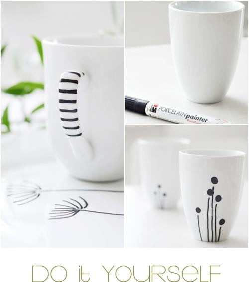 write on your mug