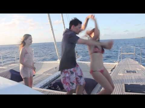 Amazing guests on sailing catamaran Miss Kirsty in the BVI - http://sailinghq.net/amazing-guests-on-sailing-catamaran-miss-kirsty-in-the-bvi/