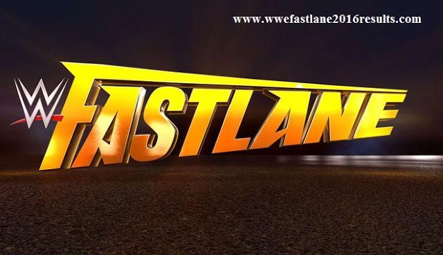 WWE Fastlane 2016 Results