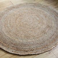 The jute rug is made in india from jute a highly sustainable, rapidly renewable resource and a particularly durable material. available in a range of natural hues that will suit most interiors, this beautifully textured rug is also reversible. made from 100% jute fibers.