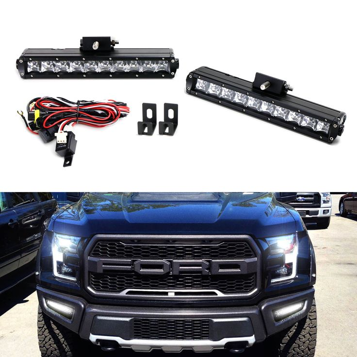 Introducing our powerful 100W CREE LED lightbar fog lamp for the 2017 Ford F-150 Raptor! We've split an LED light bar into a pair of LED fog lights to cut through any and all things that block your sight.