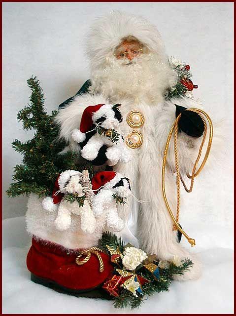 287 best Santa dolls images on Pinterest  Father christmas Santa