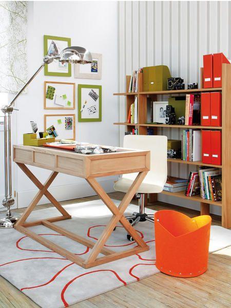 Decoracion y diseño-Decoración Living- DECOCASA » Oficina en espacios mínimos