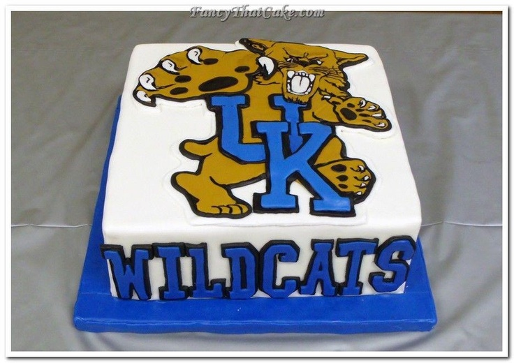 Pin Ky Wildcat Fan Tiered Cake Theater Cake On Pinterest