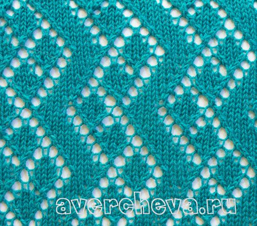 Knitting Lace pattern 5820