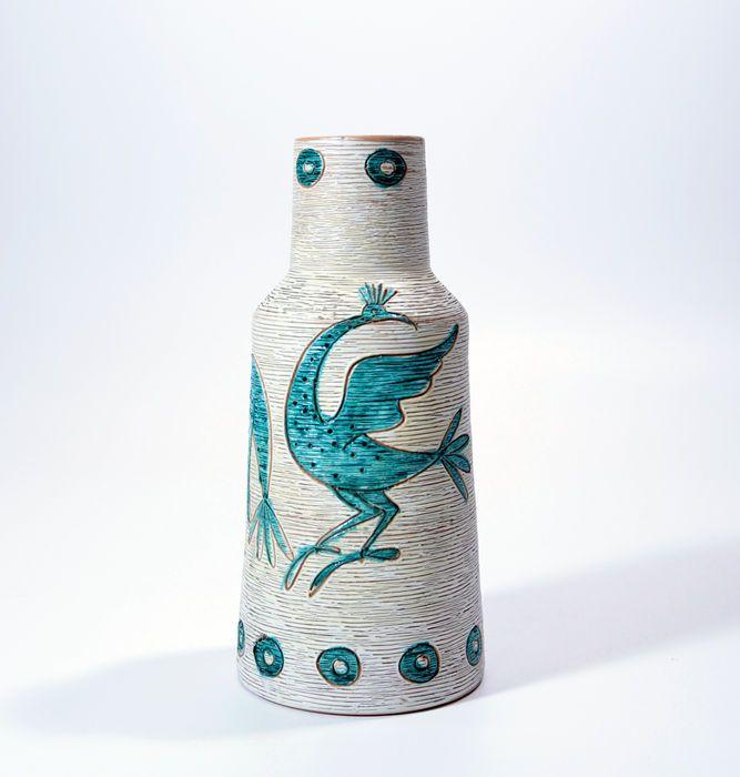 Fratelli Fanciullacci - Retro 70's Italiaans aardewerk vaas
