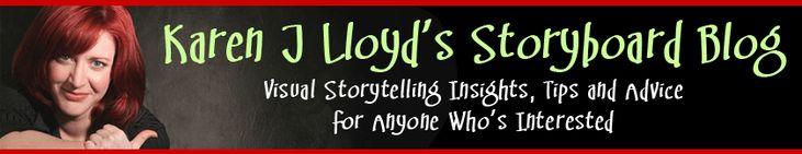 Storyboarding Tips & Advice | Storyboard Templates | Karen J Lloyd's Storyboard Blog | Karen J Lloyd's Storyboard Blog