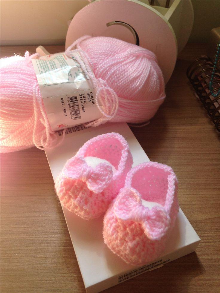 Sapatilhas para bailarinas bebês!!