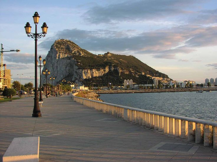 Gibraltar. Helena, Hassan and I did tax free shopping!!!