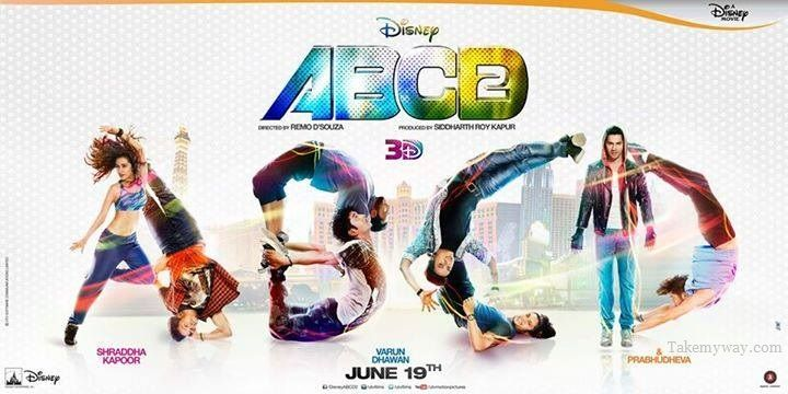 ABCD 2 Movie (2015) 2nd Brand New Innovative Posters  Ft. Varun Dhawan, Shraddha Kapoor