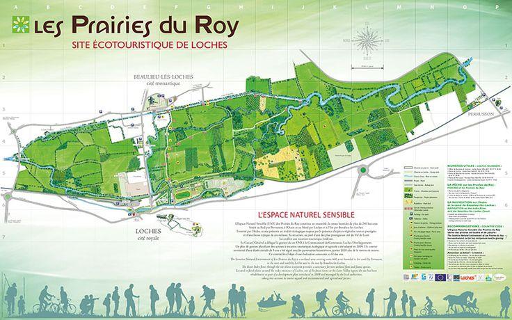 Site écotouristique des Prairies du Roy à Loches