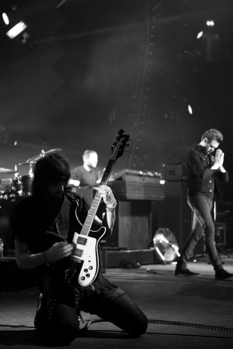 """Thank you NYC - what an incredible city!""  -Kasabian, March 23, 2012"