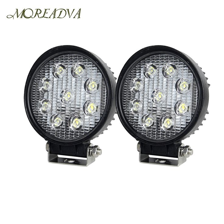 $19.73 (Buy here: https://alitems.com/g/1e8d114494ebda23ff8b16525dc3e8/?i=5&ulp=https%3A%2F%2Fwww.aliexpress.com%2Fitem%2F2pcs-4-Inch-27W-LED-Work-Light-for-Indicators-Motorcycle-Driving-Offroad-Boat-Car-Tractor-Truck%2F32719166673.html ) 2pcs 4 Inch 27W LED Work Light for Indicators Motorcycle Driving Offroad Boat Car Tractor Truck 4x4 SUV ATV 12V Driving Light for just $19.73
