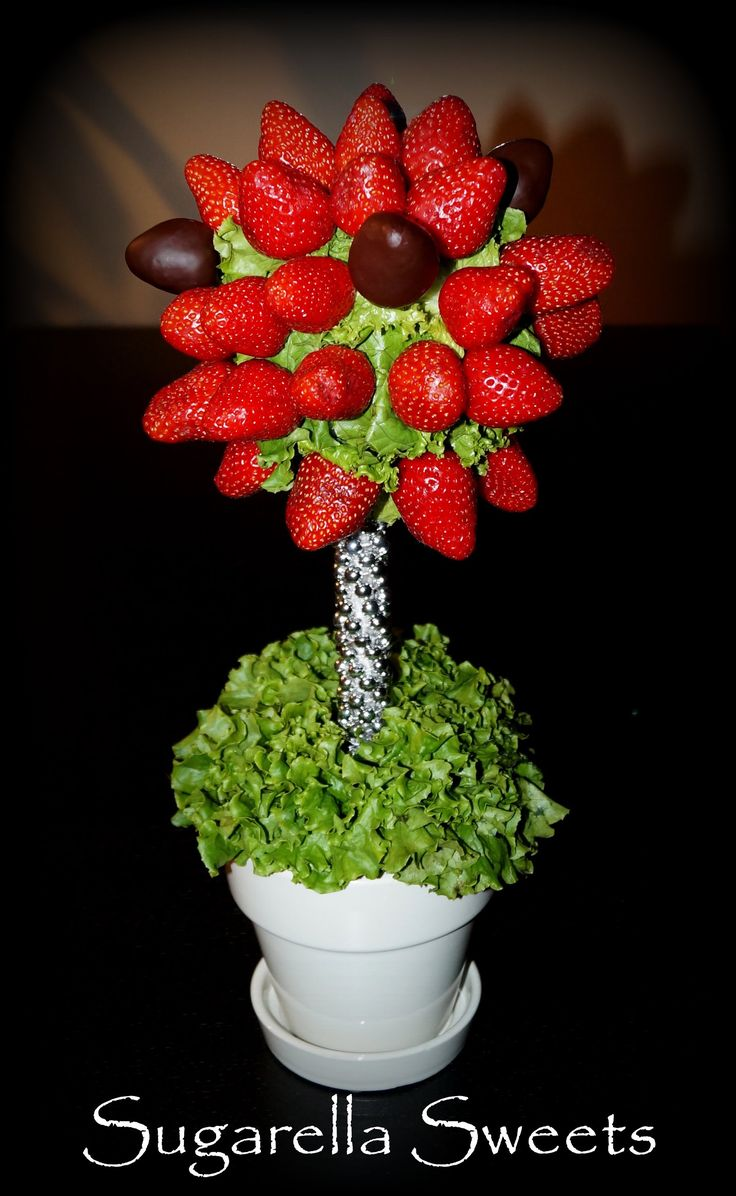 Here Is A Tutorial On How To Make An Edible Arrangement