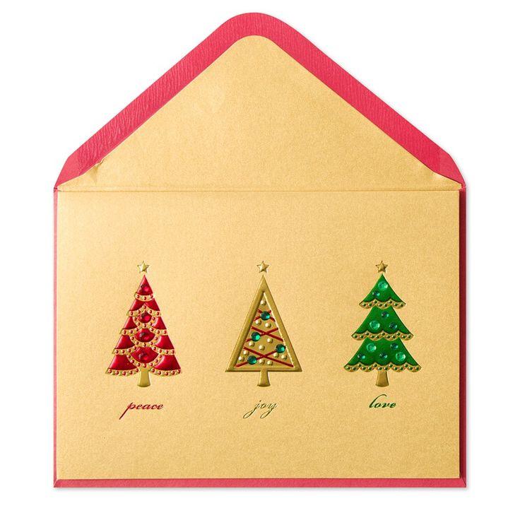 Christmas Tree Trio Price $6.95
