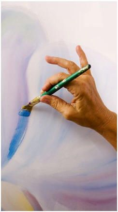 how to learn watercolor painting at home