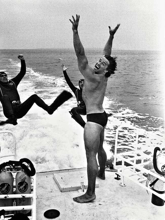 Arnold Schwarzenegger | Rare and beautiful celebrity photos