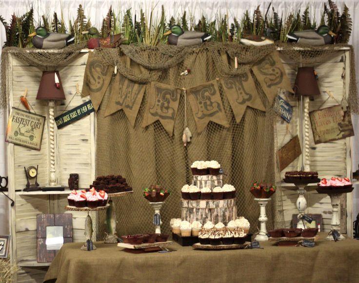 Groom's table, desserts, Debbie Delights
