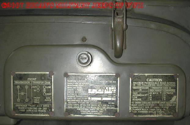 Archive Willys Overland And Ford Jeep Serial Number Page Willys Overlanding Jeep