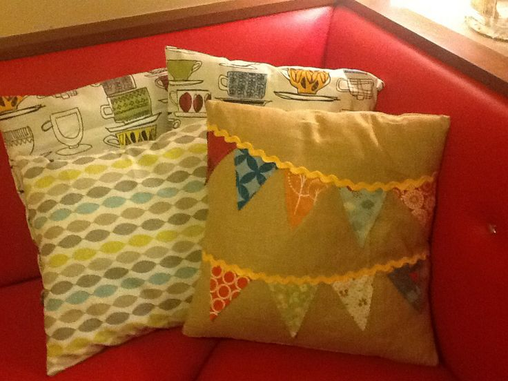 Cushions for 'Preloved by Patti and Frank' - Portstewart Ireland