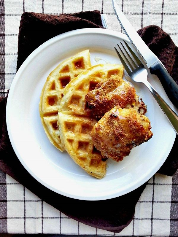 Paleo gluten-free chicken and waffles
