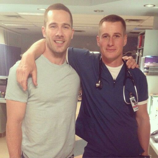 Luke Macfarlane and Brendan Fehr! They have to get back together! ♡♡ Drew and Rick ♡♡