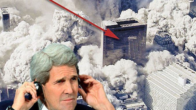 John Kerry Admits WTC 7 Was Brought Down By Controlled Demolition – 5/8/17