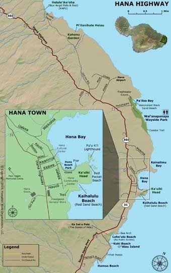 Road to Hana Map - Part 1