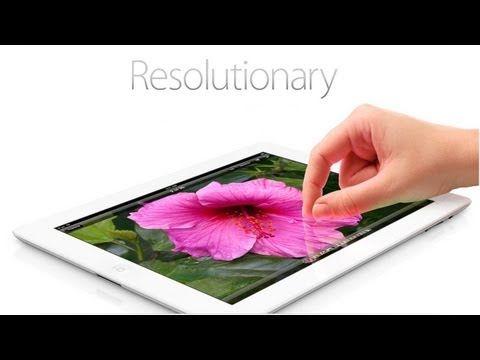 """""""Résolutionnaire"""" ! C'est la manière dont Apple défini son nouveau joujou présenté le 7 mars dernier. Nous vous l'annoncions, la présentation de l'iPad 3 devait avoir lieu à San Francisco lors d'une grande messe du géant de l'High-Tech, et ce fut chose faite avec une prestation du nouveau CEO Tim Cook."""