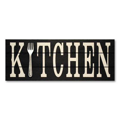 Kitchen Wall Signs