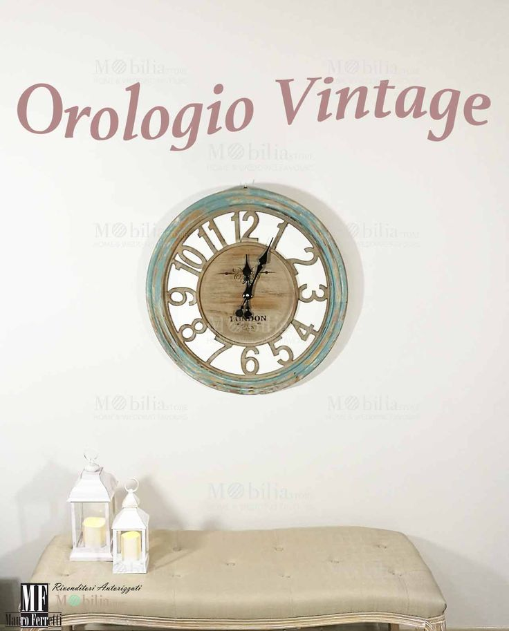 11 best images about orologi da parete on pinterest in for Mobilia italia