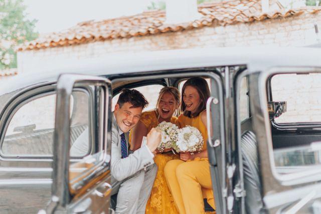 Real Wedding Tweedaagse Bruiloft In Het Franse Cognac Bruiloft Bruidegom Bruidsparen