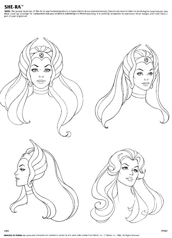 Authorised depictions of She-Ra, Princess of Power  Princess Aurora.