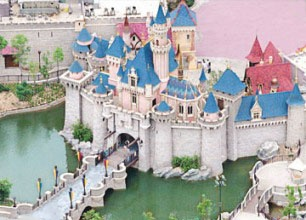 Disneyland Hong Kong.  Hopefully I'll be visiting here in less than a year!