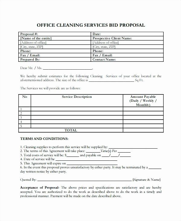 Service Proposal Template Word In 2020 Proposal Letter Business