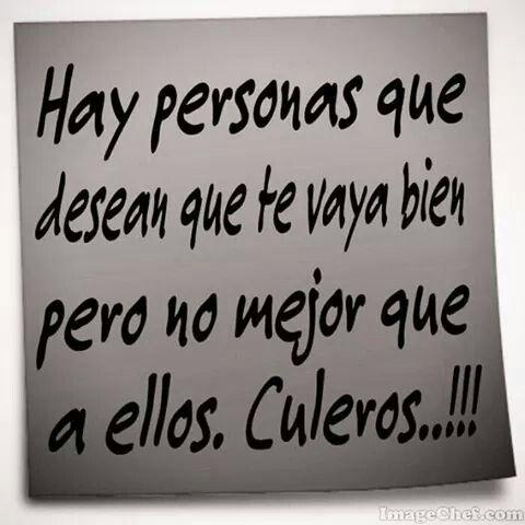 Si K Culeros!!! jajajaja
