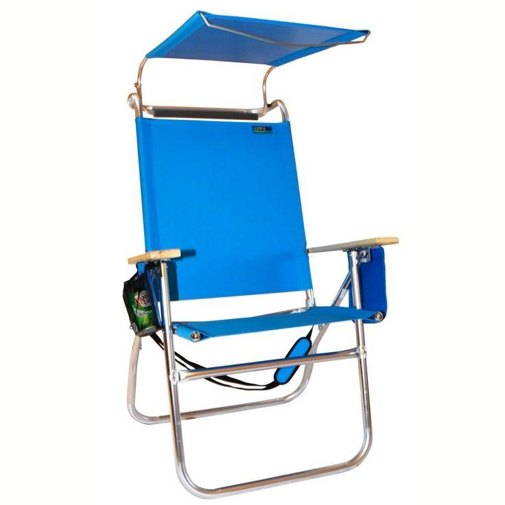 High Seat Beach Chair With Canopy