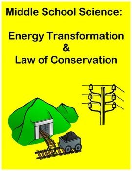 This activity is designed to explain and review energy transformations including; kinetic energy, potential energy, radiant energy, mechanical energy and the Law of Conservation of energy. After a reading passage, there are 4 multiple choice questions and a constructed response.