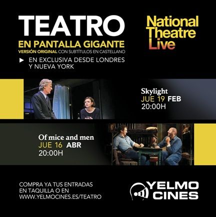 Yelmo Cines te trae el mejor teatro del National Theatre Live y sin moverte de la butaca - http://www.valenciablog.com/yelmo-cines-te-trae-el-mejor-teatro-del-national-theatre-live-y-sin-moverte-de-la-butaca/