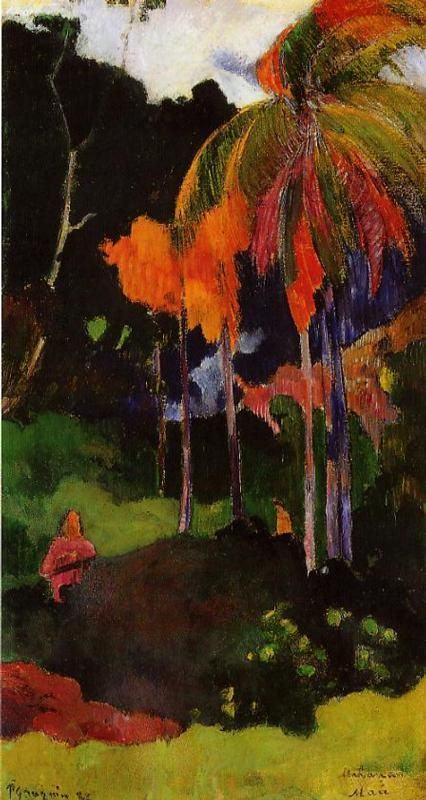 The moment of truth I, 1892 Paul Gauguin. Cincinnati Art Museum.