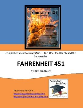 Fahrenheit 451 Part One Study Guide Questions $2.99