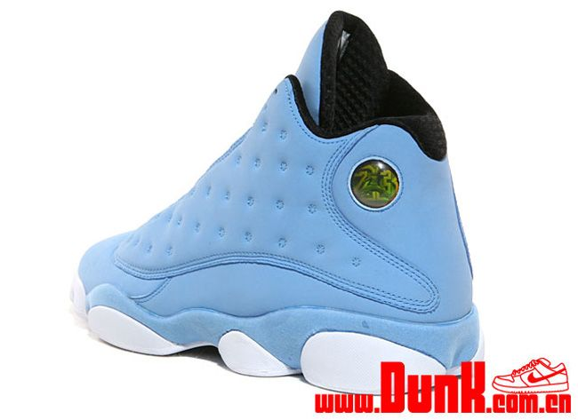 air jordan 13 university blue black&white