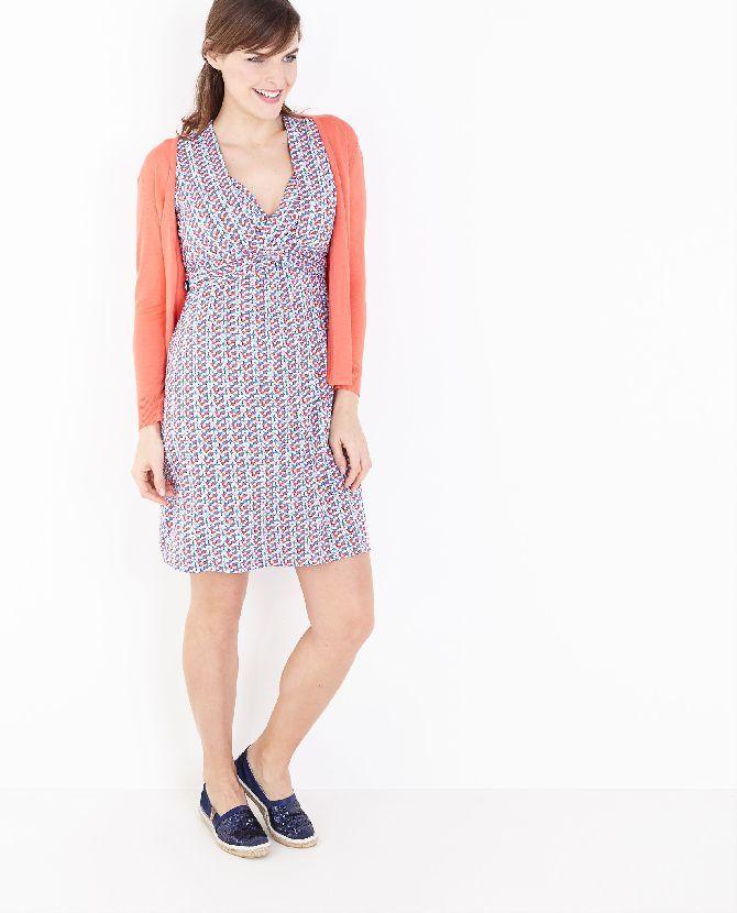 Bedrukte jurk Mammae by JBC - JBC Webshop BE - NL