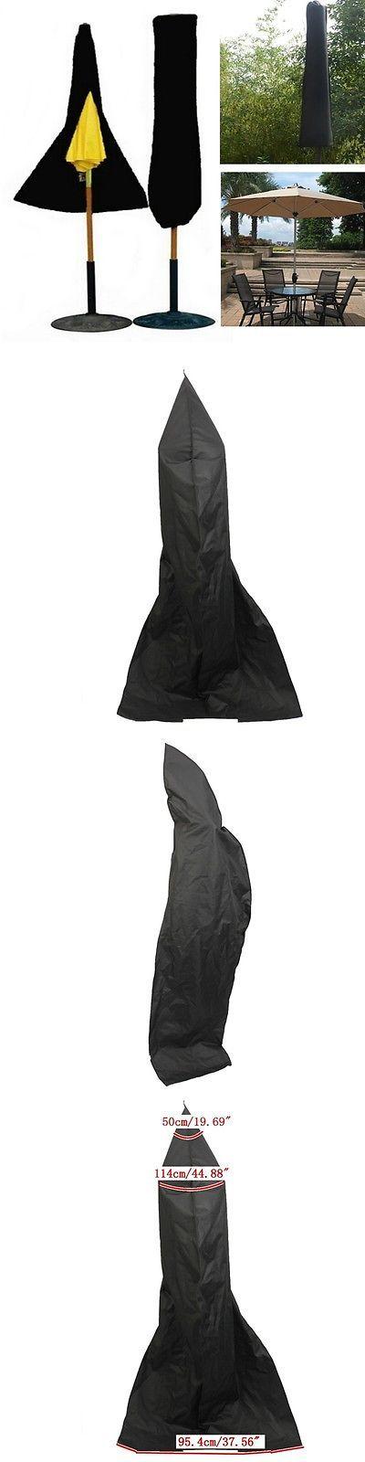 Map Covers 181402: Outdoor Yard Garden Umbrella Parasol Cover Zipper Waterproof -> BUY IT NOW ONLY: $53.97 on eBay!