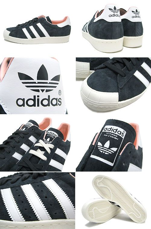 adidas superstar 80s half-shell shoes