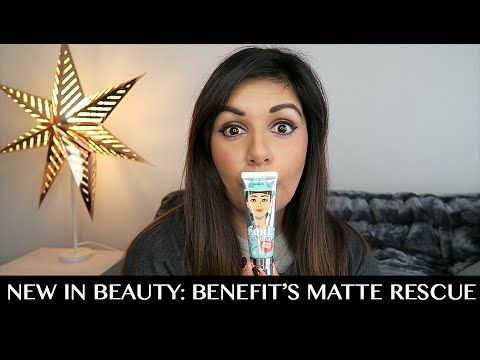 New In Beauty: Benefit's the POREfessional Matte Rescue | The Trend Edit