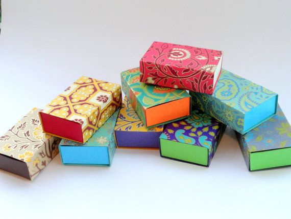 Match Box Jewelry Packaging Boxes Gift Box Packaging Boxwedding Favor Box 10 Assorted