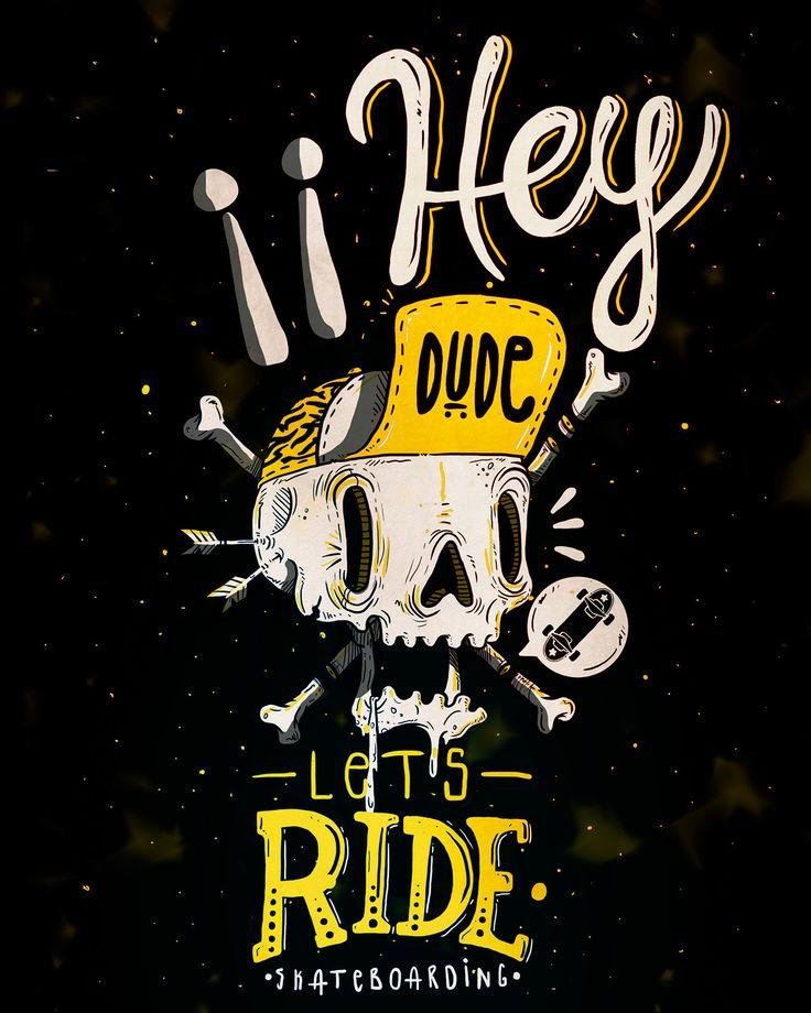 Ilustracion para la marca DUDE