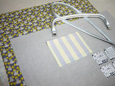 ニューム⼝⾦のバッグ | コッカファブリック・ドットコム|布から始まる楽しい暮らし|kokka-fabric.com